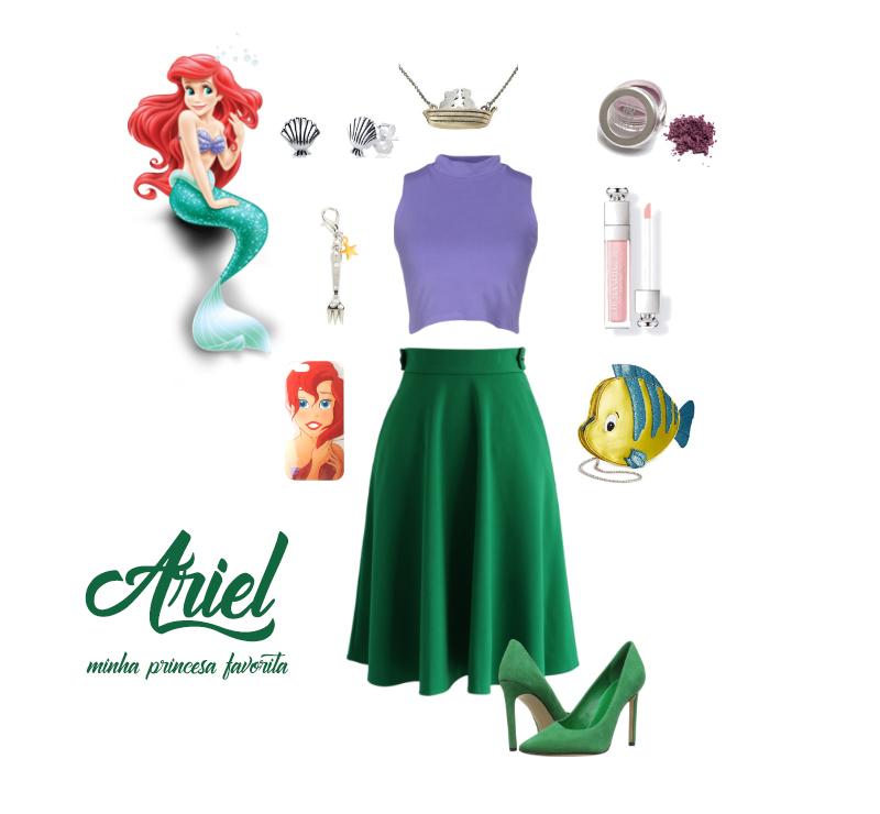 DisneyBouding - Ariel Look