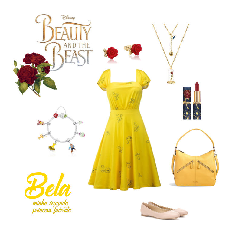 DisneyBounding - Bela Look