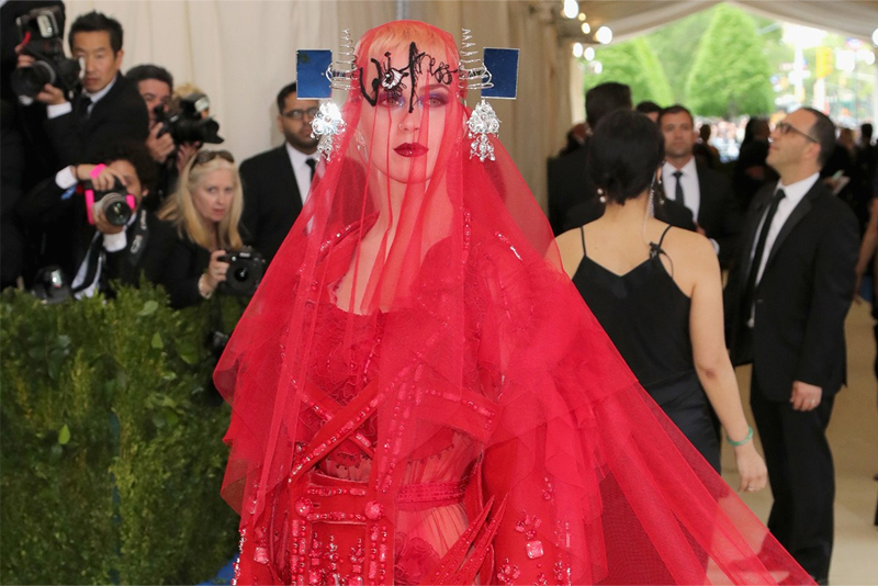 Katy Perry no Met Gala 2017