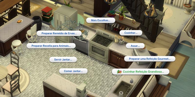 The Sims 4 Estações Inverno