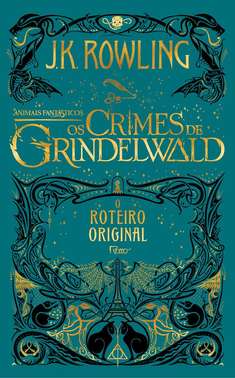 Animais Fantásticos: Os crimes de Grindelwald - capa do roteiro original