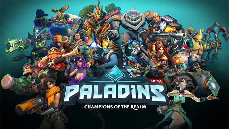 Carnaval 2017 com game Paladins