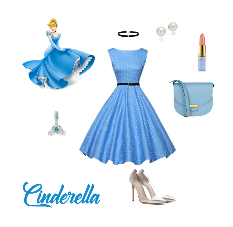 DisneyBounding - Cinderella Look