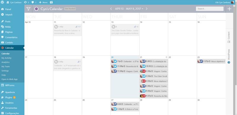 CoSchedule - um calendário super bacana para planejar melhor seu blog