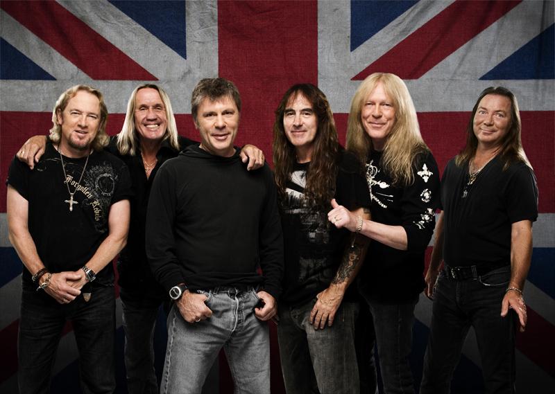 Iron Maiden exibirá seu novo DVD gratuitamente para os fãs online