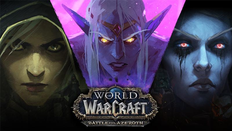 Warbringers- curtas sobre três personagens femininas que serão protagonistas de Battle for Azeroth, a próxima expansão de WoW