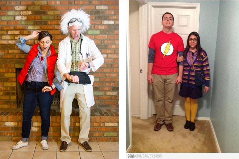 Fantasias de Halloween.