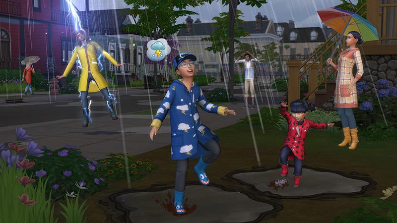 The Sims 4 Estações - a próxima expansão