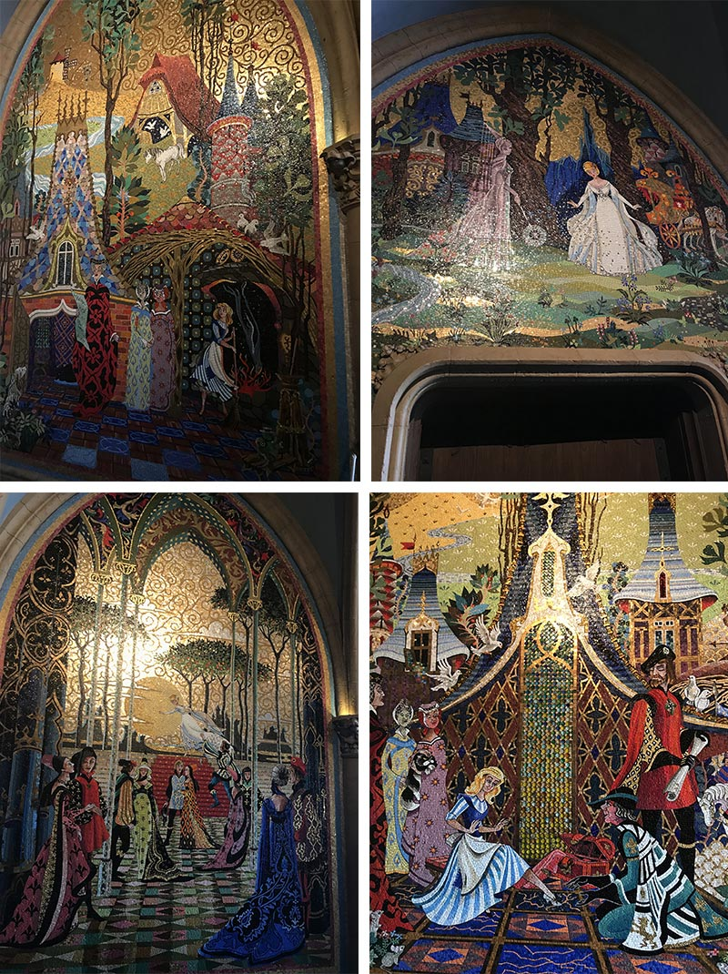 Mosaico do Castelo da Cinderela