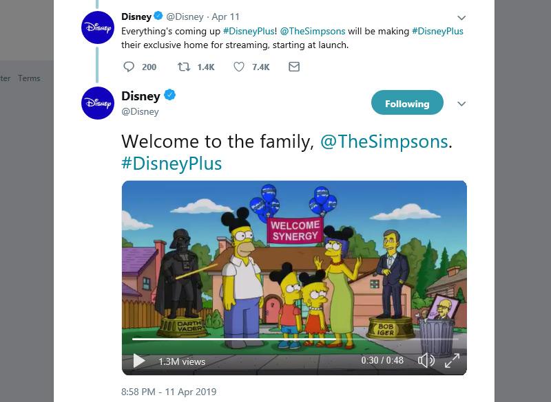 Os Simpsons na Disney Plus