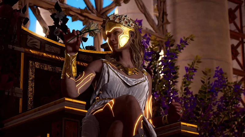 Assassin's Creed Odyssey - Campos Elísios - deusa