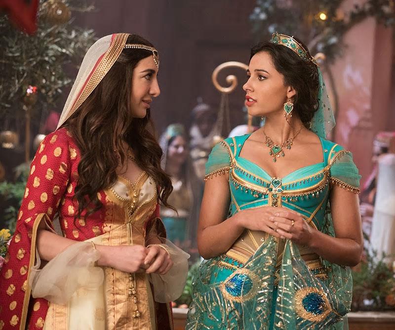 Dalia e Jasmine em Aladdin 2019