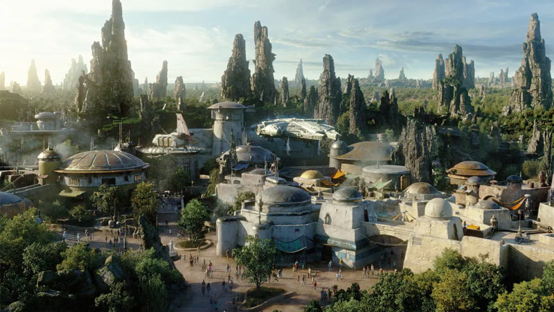 Nova área Star Wars: Galaxy's Edge nos parque Disney Hollywood Studios inaugura dia 29 de agosto