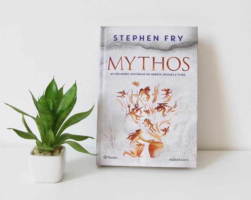 Livro Mythos de Stephen Fry