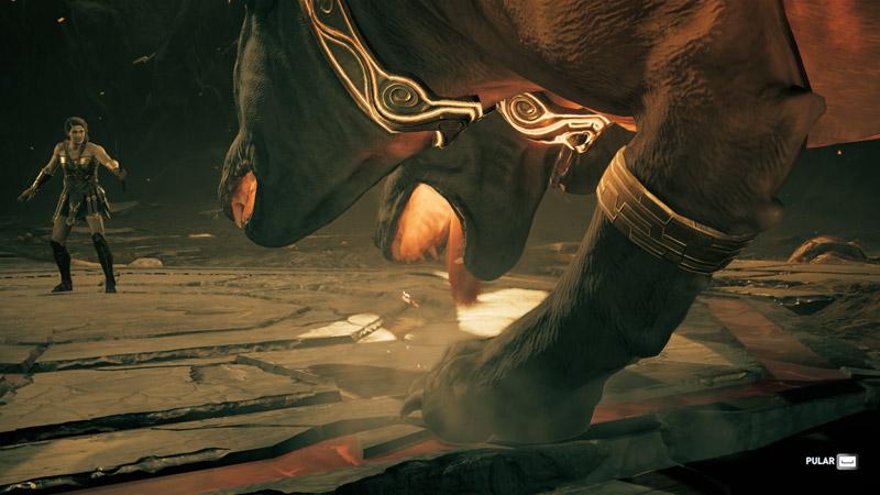 Tormento de Hades - Enfrentando Cérberus
