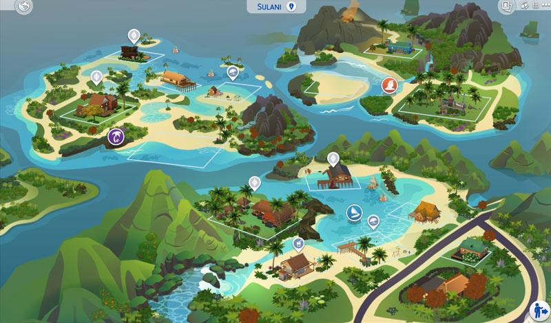 The Sims 4 Ilhas Tropicais - Sulani