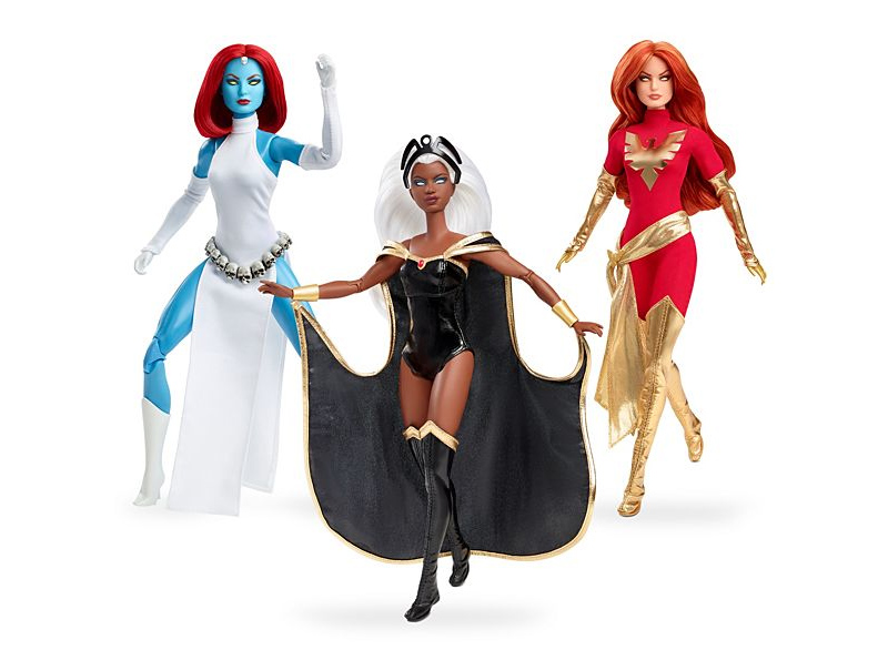Barbies Marvel X-Men anos 80