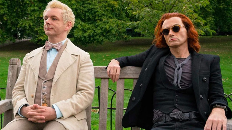 Aziraphale e Crowley - Good Omens
