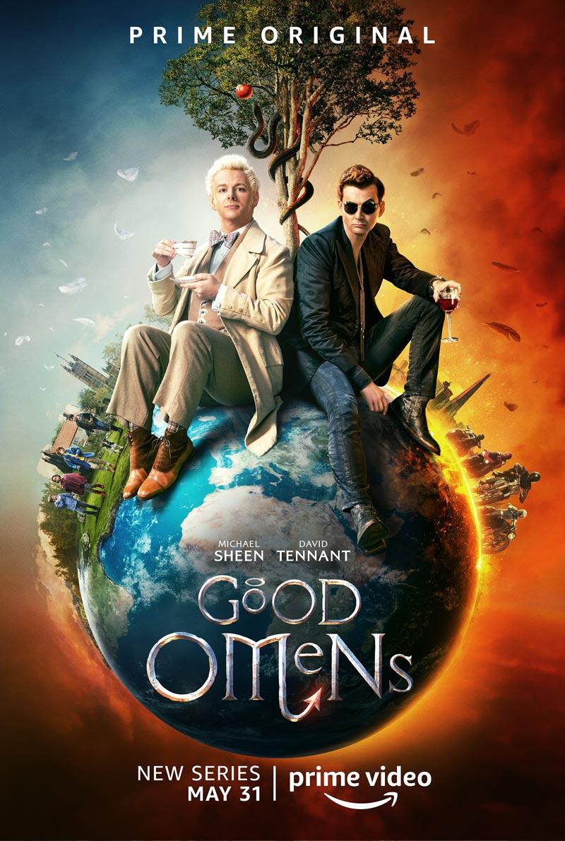 Motivos para assistir a série Good Omens
