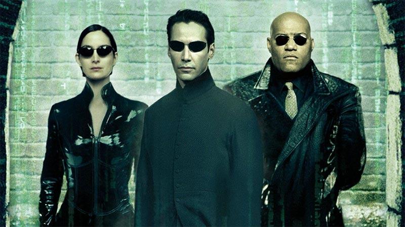 Neo, Trinity e Morpheus em Matrix. Neo e Trinity confirmados para Matrix 4