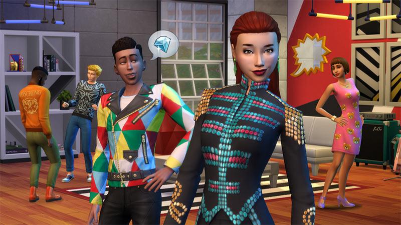 The Sims 4: Moschino Coleção de Objetos