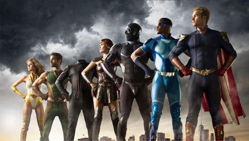 The Boys, série de super-heróis?