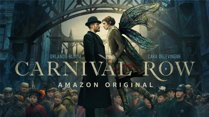 Carnival Row - série de fantasia da Prime Video
