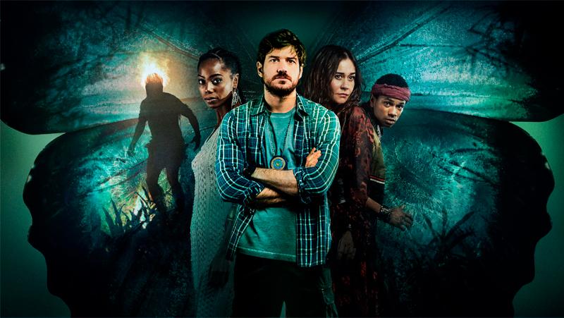Cidade Invisível - série brasileira da Netflix que aborda o nosso folclore.