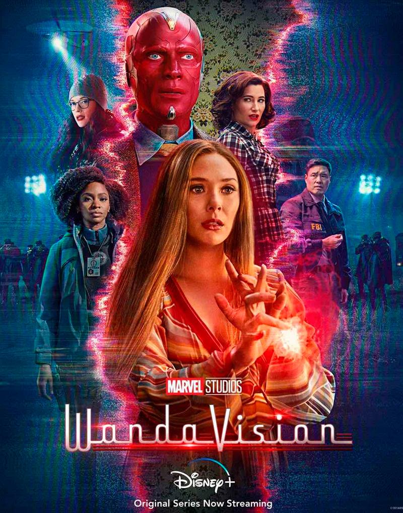 Cartaz WandaVision Disney+